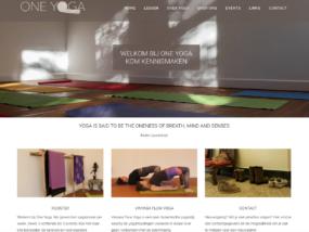 WebMagix portfolio One Yoga Bussum