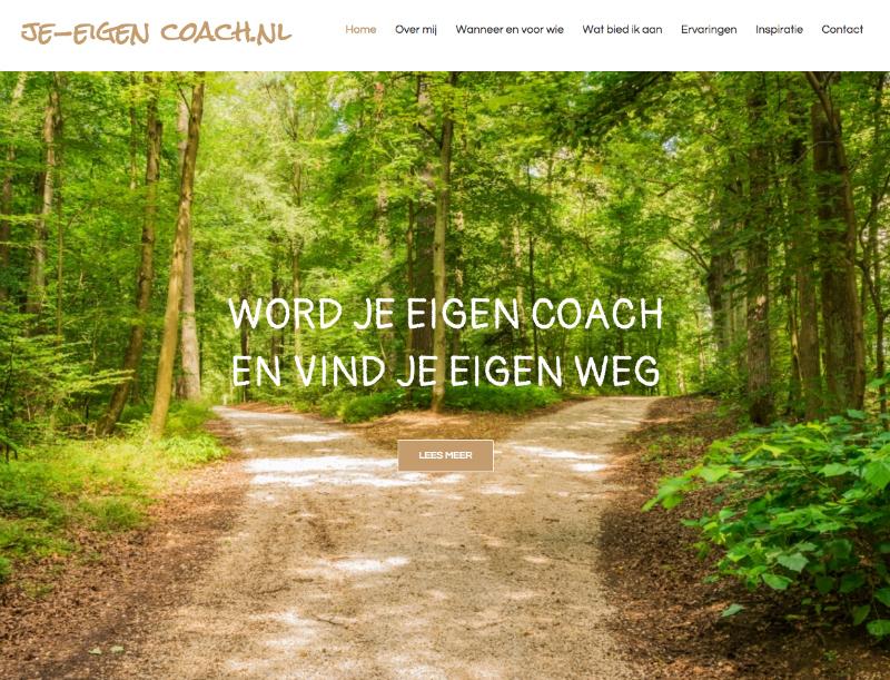WebMagix portfolio Je-eigen coach