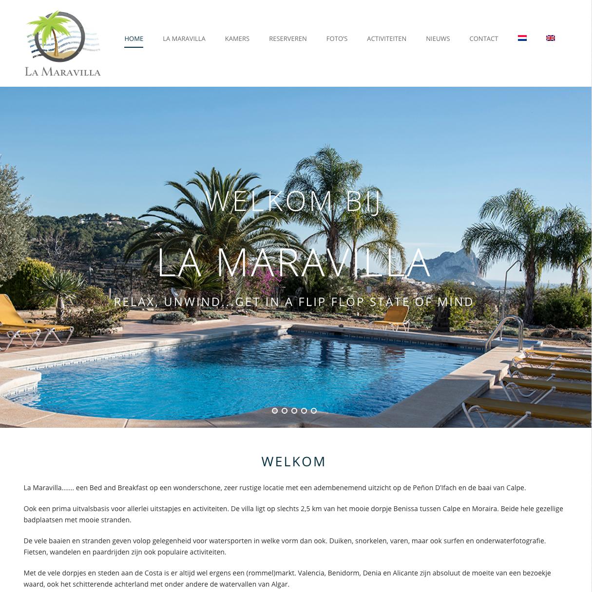 WebMagix portfolio La Maravilla
