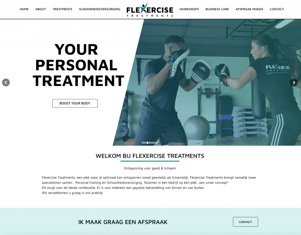 WebMagix-portfolio-Flexercise-Treatments